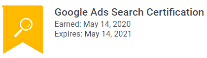 Google Ads Certification 2021